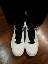 Jordan Fadeaway Fashion Men's Sneaker Shoes AO1329, White/Dark Concord, Size 9.5