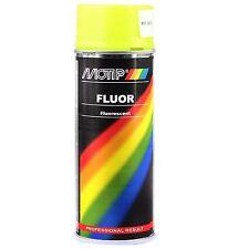 Aérosol Spray fluorescent peinture jaune 400 ml Motip 04022