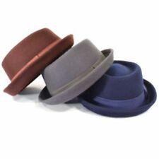 Gorras y sombreros de mujer fedoras 100% lana
