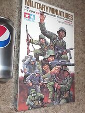 WW2, German Assault Troops, by TAMIYA Model Kit, Scale 1/35 Military Miniatures