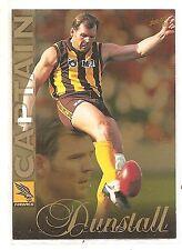 1998 Select Captain Jason Dunstall Hawthorn Hawks card CC15