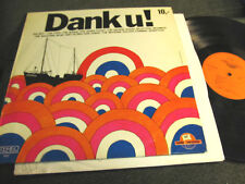 DANK U! RADIO VERONICA LP Sandy Coast Brainbox Motions vinyl oop rare '70 hollan