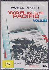 WORLD WAR II - WAR IN THE PACIFIC - VOLUME 1 - DVD - NEW