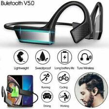 5.0 Bone Conduction Earphones Bluetooth Wireless Open-Ear Waterproof Headphones