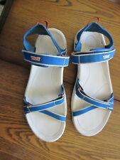 TEVA VERRA WOMENS SIZE 8 TRAIL SANDALS BLUE & WHITE