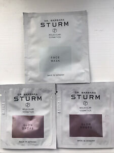 Barbara Sturm Face Mask & 2 X Glow Drops Samples