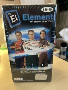 2009 PRESS PASS WHEELS ELEMENT RACING BLASTER BOX