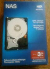 Internal WD 3TB Network NAS Hard Drive WDBMMA0030HNC-NRSN