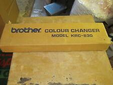 Brother Color Changer Model Krc-830 In Original Box