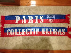 Echarpe PARIS - PSG - COLLECTIF ULTRAS PARIS