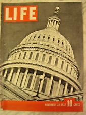LIFE Nov. 29 1937 NYC 52d St. in 1937, Japan invade China, Supreme Court history