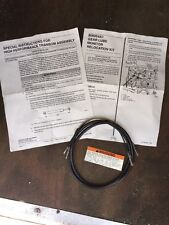 Mercury Gear Lube Monitor Relocation OIL HOSE ONLY & WARNING DECAL 806054 A1 3B5