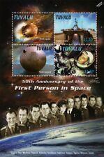 YURI GAGARIN/Cosmonauts/Gus Grissom/VOSTOK Space Stamp Sheet (2011 Tuvalu)