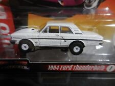AUTO WORLD ~ '64 Ford Thunderbolt ~ New In Clam Pack ~ Also Fits Aurora, AW, JL