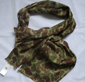 Ralph Lauren RRL DOUBLE RL Wolle Schal Scarf Made in Italy