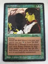 Ifh-Bíff Efreet -MP- Arabian Nights MTG Cards Green Rare SEE IMAGES LC-A
