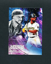 2018 TOPPS SUPERSTAR SENSATIONS ANDREW McCUTCHEN SSS-46 pirates