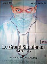 Affiche cinéma  LE GRAND SIMULATEUR Christopher Morahan -  120 x 160 cm
