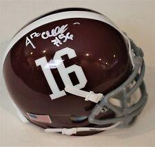 Antonio Alfano Signed Alabama Crimson Tide Mini Football Helmet W/COA #1