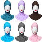 Muslim Hijab Styling Full Cover Under Scarf Ninja Inner Plain Hat Cap Bonnet B85
