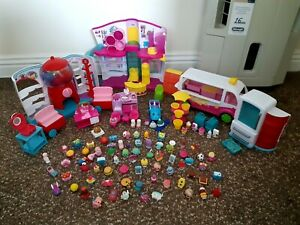 Shopkins Bundle, Playsets and figures Inc happy places playset