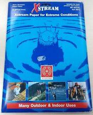 50 FOGLI a4 90gsm ACQUA resisitant Libro bianco tinta unita ad alta resistenza alla rottura