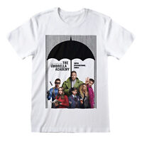 Official The Umbrella Academy Poster T Shirt Unisex NEW S M L XL XXL
