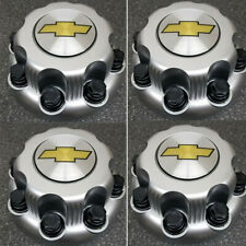 4x Chrome Chevy 8 Lug Center Hub Caps For Chevrolet Express Van 2500 3500 959716