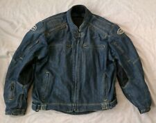 Sliders Kevlar Riding Apparel Padded Motorcycle Biker Jean Men's Jacket SZ 2XL