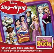Disney Sing-Along Duets CD FROZEN - TOY STORY FREE UK P&P NEW FOR 2017