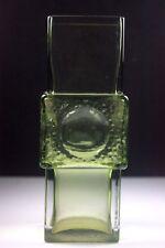 VINTAGE con Riihimaki finlandese vaso di cristallo