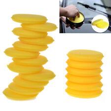 12Pcs Wax Sponges Round Pads Polish Wax Foam Sponges Applicator Car Glass Clean