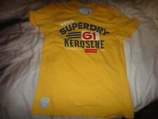 Superdry Tin Tab Kerosene T-Shirt Pigment Yellow Size M