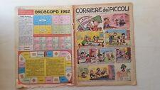 CORRIERE DEI PICCOLI 1962 N°1 L.BUFFON CAMPIONI DELLA BOXE  CVS9/17