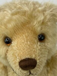 """GUND GOLD LABEL Terrence 95028 Treasured Teddies """"The Mohair Bear Collection"""""""