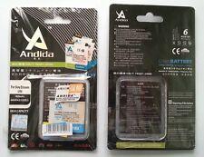 Batteria maggiorata originale ANDIDA compatibile Sony EP500 da 1600mah