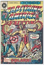 Capitaine - Captain America Marvel 1973 #20 First Solarr Appearance French