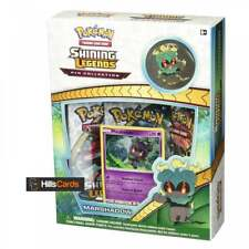 Pokemon Marshadow Shining Legends Pin Collection Box: Booster Packs, Promo Card