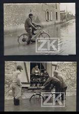 INONDATION LE LOING 2 Phot Varennes CYCLE Vélomoteur 58