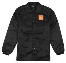 Jordan Like Mike Gatorade Coaches Jacket Sz XL X-large Black Orange Retro