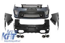 Complete Body Kit Land Rover Range Rover Sport L494 2013+ SVR Design Bumpers.