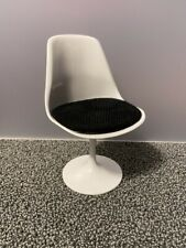 New ListingBarbie Mod Side Chair Black/White - Display or Diorama