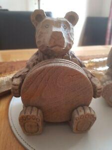 Resin Bear Coaster Next