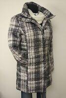 M und XXL Tom Tailor Damen Jacke Bouclé Kurzblazer Streifen blau 25/% Rabatt Gr