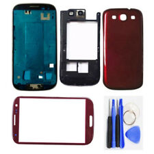 For Samsung Galaxy S3 i9300 Full Housing Case + Screen Glass Lens + Tools New