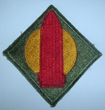 AMERICAN PATCHES-ORIGINAL WW2 NEW ENGLAND FRONTIER DEFENCE SECTOR WHITE BACK