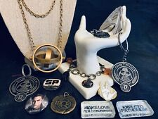 Movie Jewelry Collectible Lot Sci-Fi Hunger Games Twilight LOTR Star Trek & More