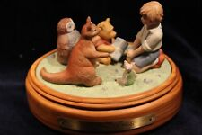 VTG WINNIE THE POOH AND FRIENDS Musical Figurine 1987 by Walt Disney Co.