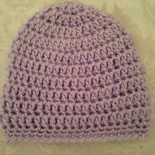 Hand Crocheted NEWBORN Baby Infant BEANIE CAP HAT Girls Boys MADE IN THE USA