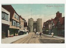 Westgate Canterbury Vintage Postcard 277a